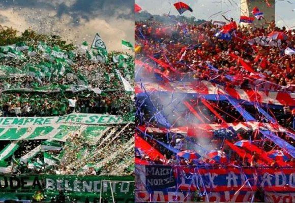 Barras bravas de Nacional y el Medellin entierran el hacha y se unen contra Iván Duque