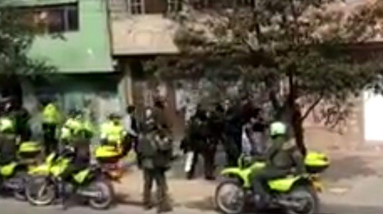 Gases del Esmad asfixian bebé en Bogotá. Video