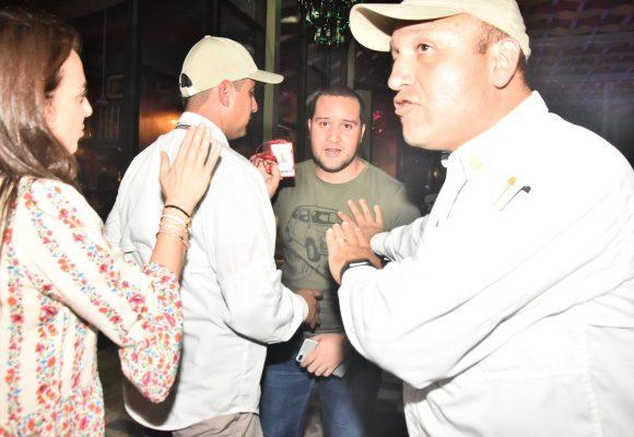 Fotos: La violencia de los escoltas de Duque con los periodistas