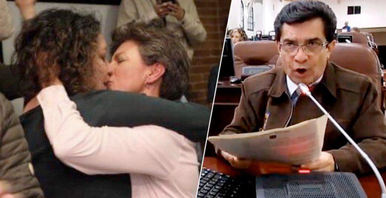El Concejal de la Familia ¿se unió a la Sodoma de Claudia López?