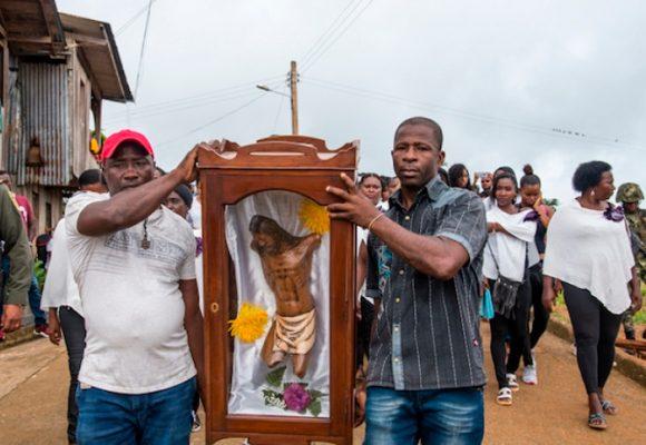 El Cristo de Bojayá sigue en pena
