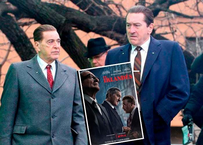 'El irlandés', un nefasto filme