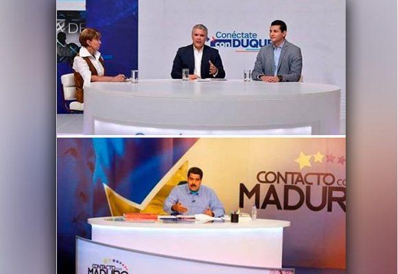 La vil copia que hizo Iván Duque del programa de Maduro
