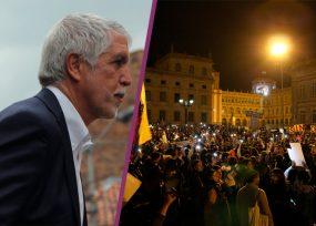 Peñalosa prohíbe protestas en la Plaza de Bolívar