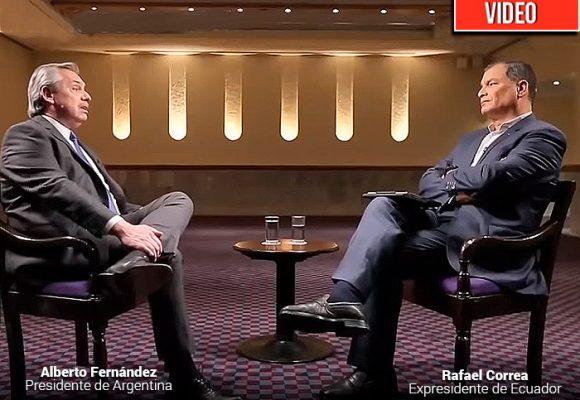 Rafael Correa y el presidente electo de Argentina: reencuentro de dos viejos amigos