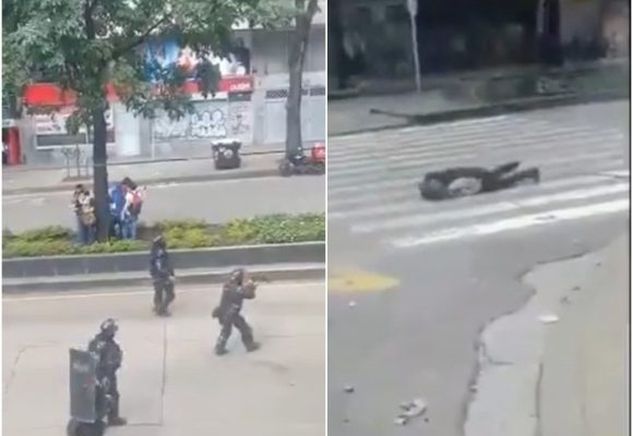 Sin ser provocado, el Esmad disparó contra Dilan [VIDEO]