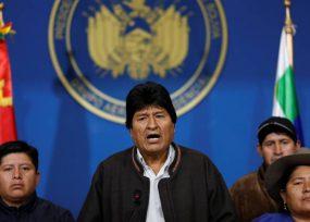 Evo forzado a llamar a elecciones en Bolivia