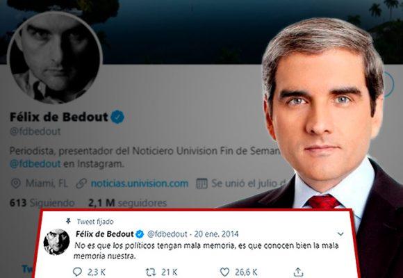 El provocador Félix de Bedout convertido en el tuitero mayor