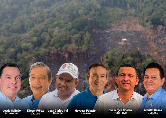 Los gobernadores encargados de cuidar la selva amazónica