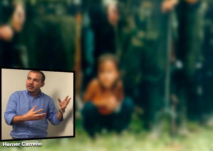 """""""El gobierno sabía de niños campesinos en el campamento bombardeado"""""""