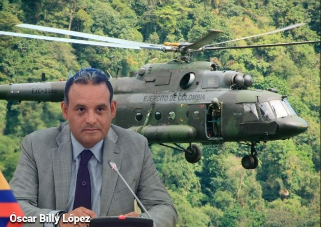Avanzada rusa con sus helicópteros M1-17 en Colombia y Latinoamérica