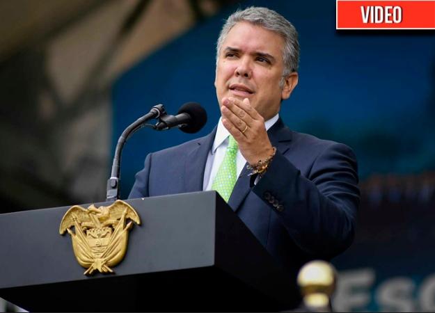 """""""El ministro Botero le ha dejado una gran lección de vida a Colombia"""": Iván Duque"""