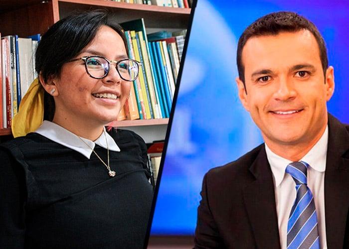 La líder estudiantil de la Nacional le da sopa y seco a Juan Diego Alvira