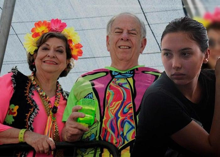 El matrimonio de 55 años de Julio Gerlein que la hija de Aida Merlano enlodó