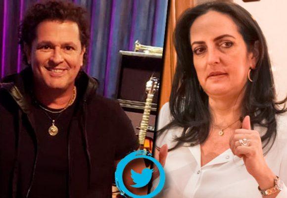 La insolencia de María Fernanda Cabal con el maestro Carlos Vives