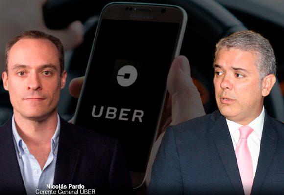 Uber retira inversión de USD 40 millones en Colombia