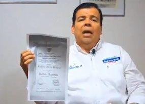¿Se posesionará de concejal de Cali el 'Chontico' con su falso diploma?