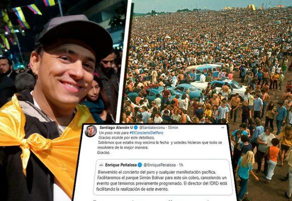 Santiago Alarcón, el creador del Woodstock colombiano