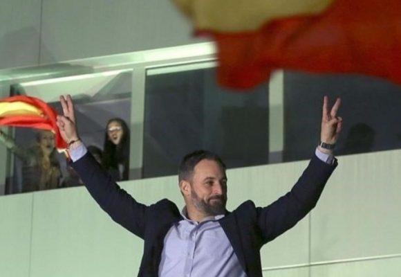 El líder de la ultraderecha da la gran sorpresa en España