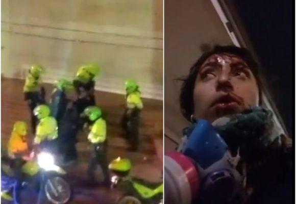VIDEO: Brutal golpiza de la policía a joven en Universidad de los Andes