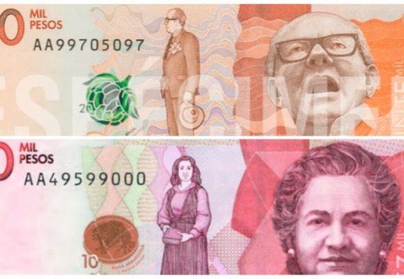 """No se deje robar con la """"confusión"""" de los billetes de diez mil y veinte mil"""