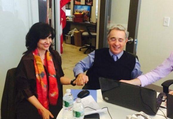 Claudia Blum, la nueva canciller, del corazón de Uribe