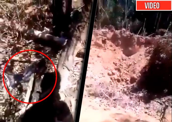 El rastro que dejó el bombardeo en la selva del Caquetá [VIDEO]