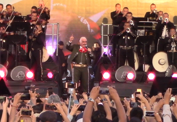 Así fue el concierto de despedida de Vicente Fernández en Guadalajara
