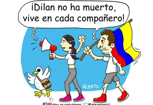 Caricatura: ¡Dilan no ha muerto!