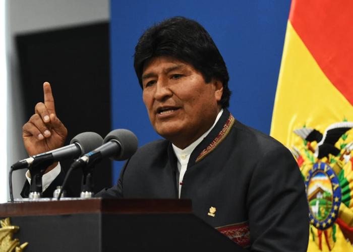 Sumas y restas de Evo Morales