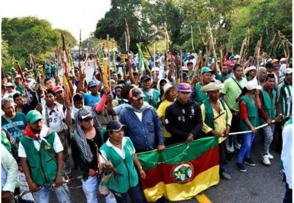Apoyemos a la Guardia Indígena en el Paro Nacional