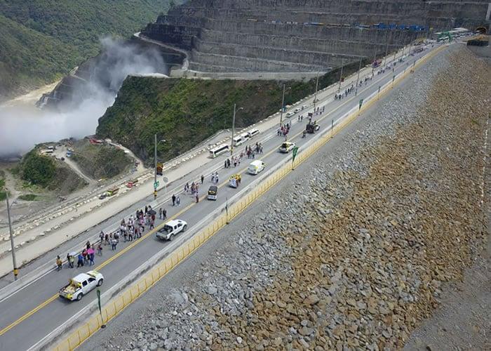 EPM puso en operación nueva vía en Hidroituango