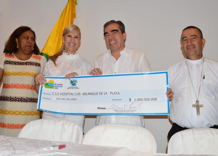 Continúa la recuperación del Hospital Luis Ablanque de la Plata (Buenaventura)