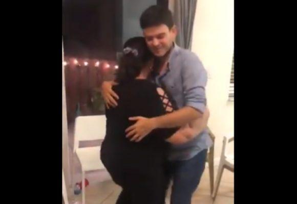 VIDEO: A punta de vallenato Alejandro Lyons celebra su libertad en Miami