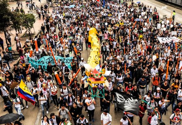 Colombia: del 27 de octubre al 21 de noviembre