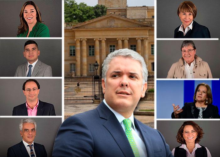 Los de Duque y los de Uribe: los dos combos del gabinete