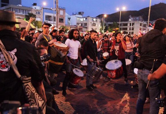La protesta social en Colombia como forma continua de una guerra civil
