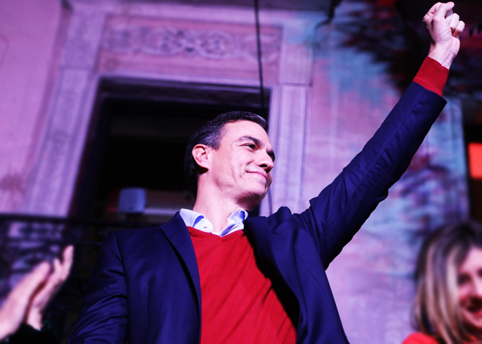 España tendrá cuatro años de gobierno rotundamente progresista
