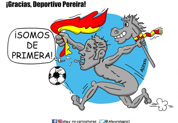 Caricatura: ¡Gracias, Deportivo Pereira!