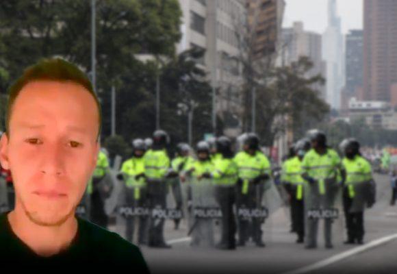 """""""Viva la dictadura"""": la burla de la Policía contra los manifestantes"""