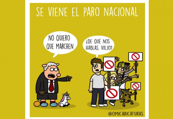 Caricatura: ¡Viene el paro nacional!