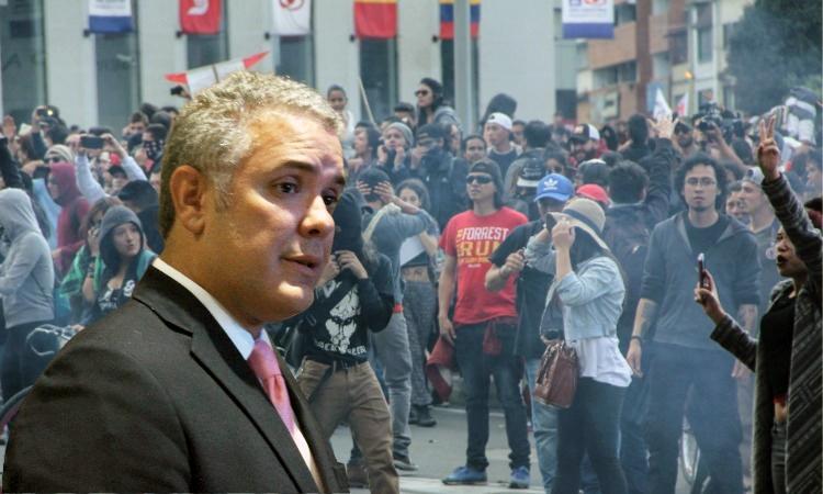 21 de noviembre: le llegó el turno a Colombia