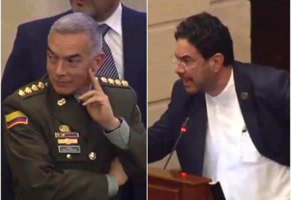 La burla del director de la Policía al debate del Esmad