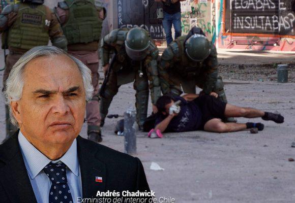 Duro castigo a Mininterior por represión a la protesta en Chile