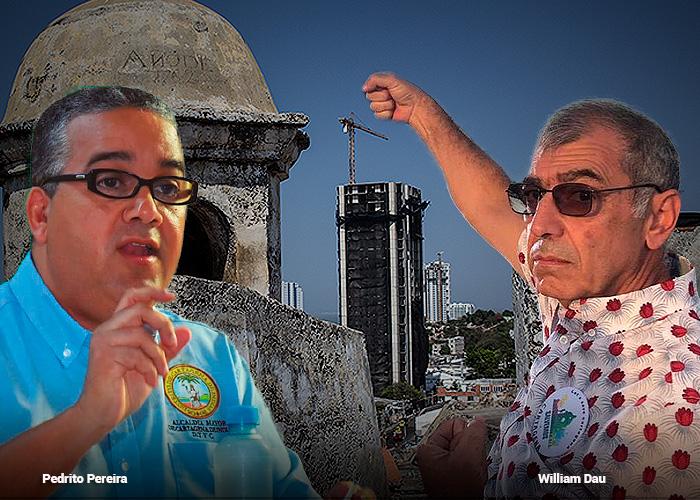 Los días contados de la torre Acuarela en Cartagena