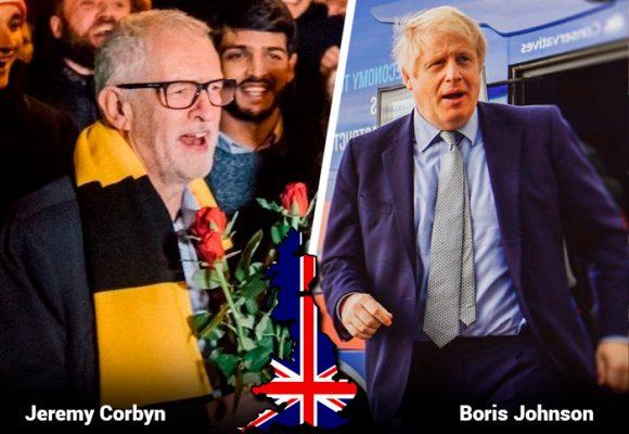 Johnson y Corbyn, los dos líderes ingleses enfrentados en las urnas ¿Quiénes son?