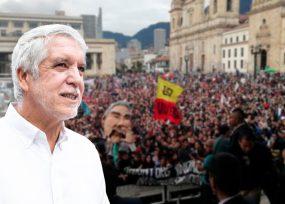 Peñalosa cede y las marchas podrán llegar hasta la plaza de Bolívar