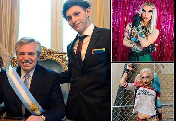 Estanislao, el hijo drag queen del nuevo presidente de Argentina