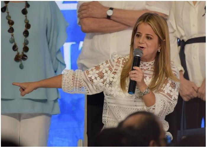 Elsa Noguera ya tiene equipo para gobernar el Atlántico
