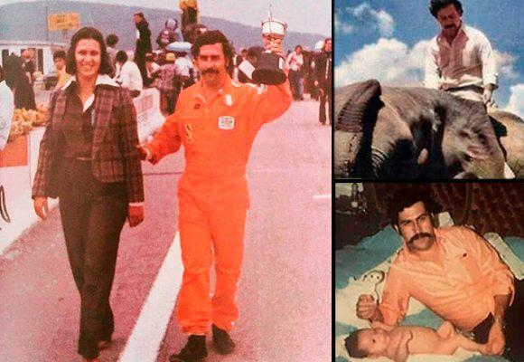 Pablo Escobar y su vida privada antes de la guerra